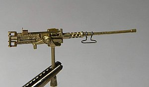 Browning M2 cal.50 on mount tank 1/72 Mini World 028