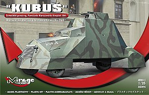 KUBUS armored car Warsaw Revolt August 1944 1:35 Mirage 355026