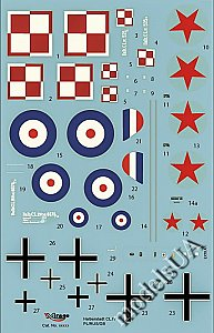 Halberstadt CL.IV Polish-Russian War Polish 14th Reconnaissance Squadron / RAF, Occupation Forces 1919 1:48 Mirage 481403