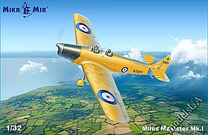 Miles M.14 Magister Mk.I British two-seat monoplane 1:32 Mikromir 32002