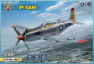 North American P-51H Mustang US WWII fighter 1/48 Modelsvit 4817