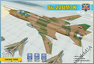 Su-22UM3K advanced two-seat trainer (Export vers.) 1:72 Modelsvit 72051