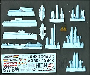 F-16 CJ American Vipers (Decal inc.) conversion set 1:48 Olimp Resin Accessories 4842