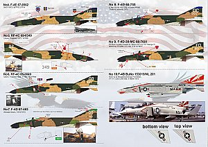 F-4 Phantom II in Vietnam war 1/144 Print Scale 14410