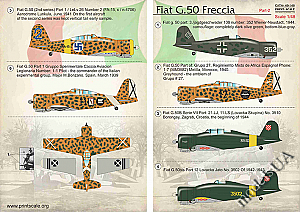 Fiat G.50 Freccia Part 2 1:48 Print Scale 48146