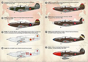Bell P-39 Aircobra Aces of the World War II 1:72 Print Scale 72333
