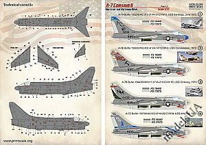 A-7 Corsair II in Vietnam War (Part III) 1:72 Print Scale 72392