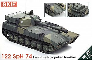 122 SpH 74 Finnish SP howitzer