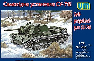 SU-76I self-propelled gun 1:72 UM 286