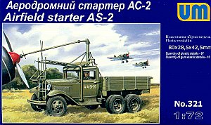 Airfield starter AS-2 on GAZ-AAA chassis 1:72 UM321